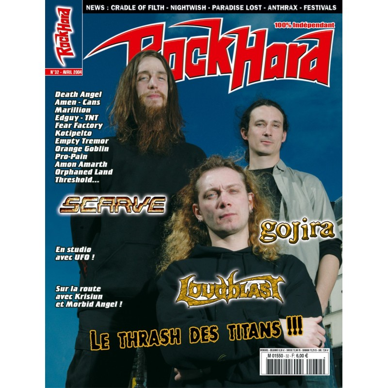 Couverture du Rock Hard n°32