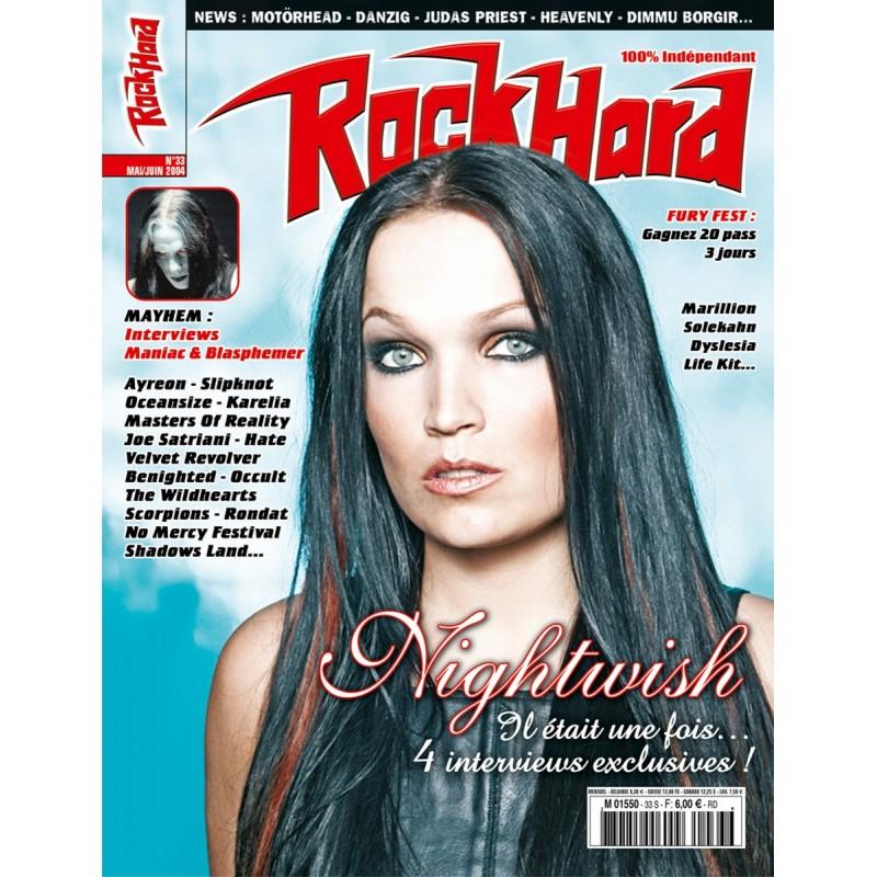 Couverture du Rock Hard n°33