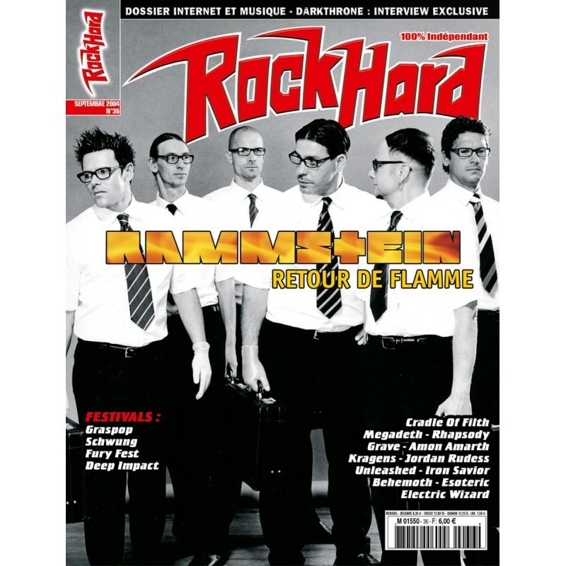 Couverture du Rock Hard n°36